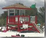 Siesta Key Public Beach Lifeguard Stand #3