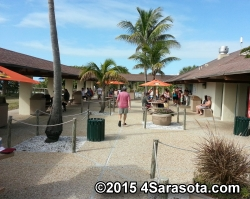 Lido Casino Beach Concession Area